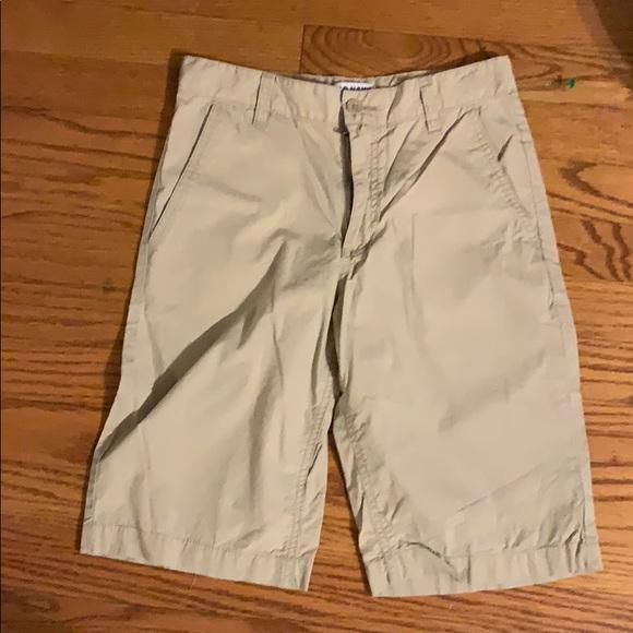 Boys old navy khaki shorts